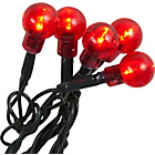 more details on 120 Berry Static Christmas Lights - Red.