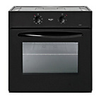 more details on Bush AE6BFB Single Fan Oven- Black