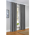 more details on Suedette Curtains - 168 x 137cm - Slate.
