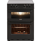 more details on Stoves SEC60DO Double Electric Cooker - Black/Ins/Del/Rec.