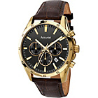 more details on Accurist Men's Chronograph Brown Leather Watch.