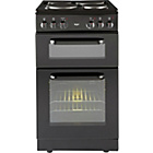 more details on Bush BET50B Single Electric Cooker - Black/Ins/Del/Rec.
