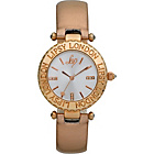 more details on Lipsy Ladies' Rose Gold Metallic Strap Watch.