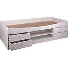 more details on Malibu Cabin Bed Frame - White.