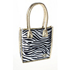 more details on Polar Gear Zebra Print Tote Lunch Bag.