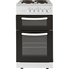 Cookworks CET50W Single Electric Cooker - White