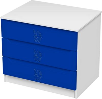 Chelsea Football 3 Drawer Chest
