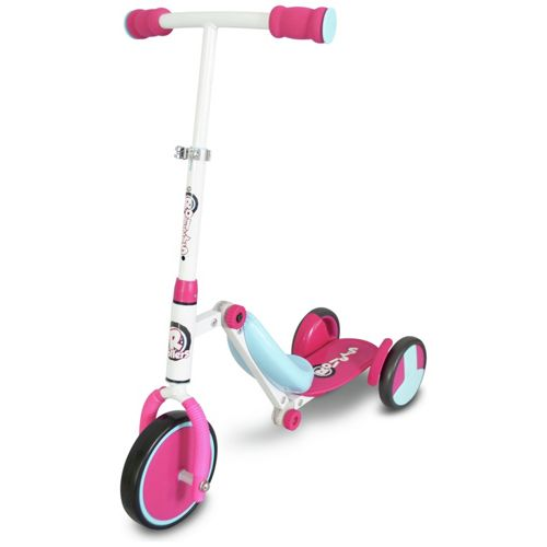 Rollers by Zinc R1 Girls Trike To Tri Scooter - Pink