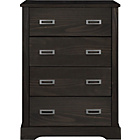 more details on Mendoza Pine 4 Drawer Chest - Walnut Stain.