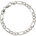 more details on Sterling Silver Figaro Bracelet.