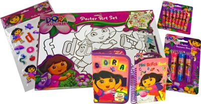 Dora Poster Art Activity Set