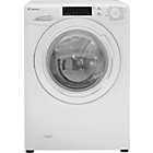 more details on Candy GV158T3W 8KG 1500 Spin Washing Machine-White/Exp Del.
