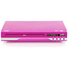 more details on Bush Pink DVD Player with Display and USB.