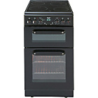 more details on Bush BEDC50B Double Electric Cooker - Black/Ins/Del/Rec.