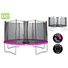 more details on EXIT Twist 12ft Pink/Grey Trampoline and Enclosure.