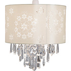 more details on Heart of House Jasmine Glass Beaded Shade - Cream.