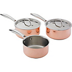 more details on Heart of House Copper 3 Piece Pan Set.
