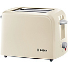 Bosch Village Collection 2 Slice Toaster - Cream