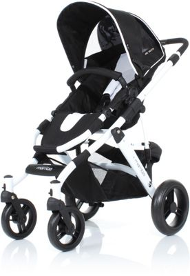 ABC Design Mamba 3in1 Pushchair - Black/White