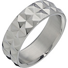 more details on Stainless Steel Geometric Band Ring.