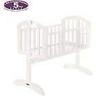 more details on Obaby Sophie Swinging Crib and Mattress - White.