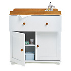 more details on Obaby Closed Changing Unit - White with Pine Trim.