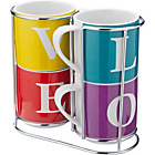 more details on Heart of House Love 4 Piece Mug Set - Multicoloured.