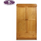 more details on Disney Winnie the Pooh Double Wardrobe - Country Pine.