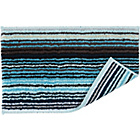 more details on Christy Supreme Stripe Bath Mat - Aqua.