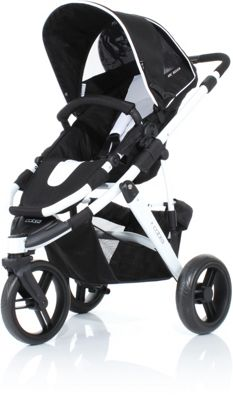 ABC Design Cobra 3in1 Pushchair - Black/White