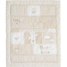 more details on Obaby B is for Bear Quilt & Bumper Set - Cream.