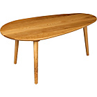 more details on Heart of House Wicken Teardrop Coffee Table - Solid Oak.