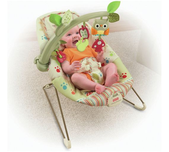 fisher price comfy time bouncer instructions