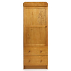 more details on Disney Winnie the Pooh Single Wardrobe - Country Pine.
