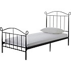 more details on Barcelona Single Bed Frame - Black.