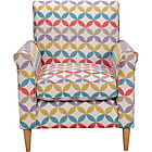 more details on Geometric Print Chair - Multicoloured.