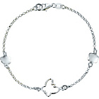more details on Sterling Silver Flower and Butterfly Bracelet.