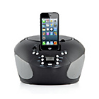 more details on Bush CD Boombox with Dock - Black