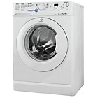 more details on Indesit XWD71252W 7KG 1200 Spin Washing Machine-Ins/Del/Rec.