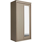 more details on New Hallingford 2 Door Sliding Wardrobe - Light Oak Effect.