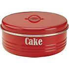 more details on Typhoon Vintage Kitchen Cake Tin - Red.