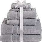 more details on HOME Zero Twist 6 Piece Towel Bale - Dove Grey.