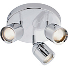 more details on Collection Baretta 3 Light Bathroom Spotlight - Chrome.