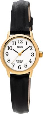 buy timex gold plated black at argos