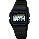 more details on Casio Men's LCD Black Resin Strap Watch.