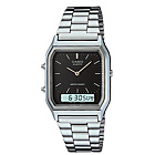 more details on Casio Men's Stainless Steel Combi Watch.