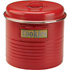 more details on Typhoon Vintage Kitchen Large Storage Canister - Red.