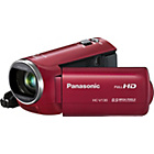 more details on Panasonic HCV130 Full HD Camcorder - Red.