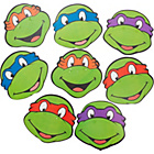more details on Teenage Mutant Ninja Turtles Pack of 8 Assorted Masks.