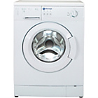 more details on White Knight WM105V 5KG 1000 Spin Washing Machine - White.